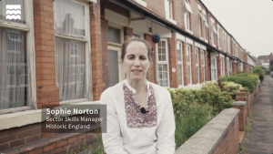 Sophie Norton, Sector Skills Manager at Historic England